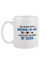Sister-in-law Mug back