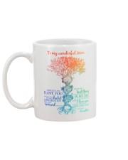 To Wonderful Mom Mug back