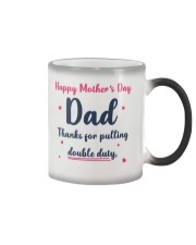 Dad Double Duty Color Changing Mug thumbnail