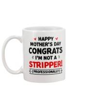 Not A Stripper Mug back