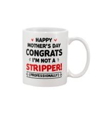 Not A Stripper Mug front