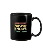 Dad Knows A Lot Pop-pop Knows Everything Mug thumbnail