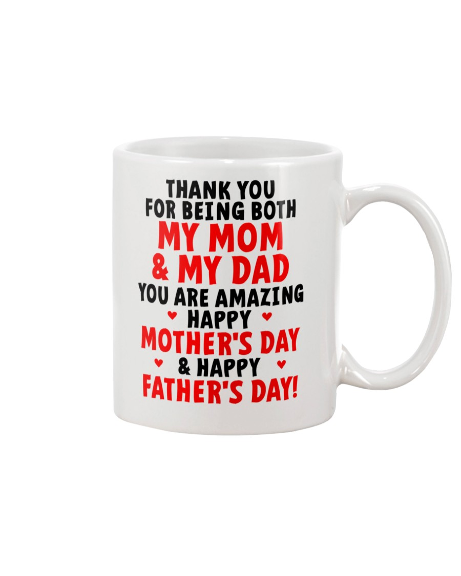 Being Mom And Dad Mug