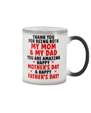 Being Mom And Dad Color Changing Mug thumbnail