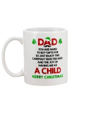 Hard To Buy Gifts Dad Xmas Mug back