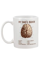 Dad's Brain Mug back