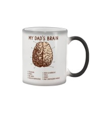 Dad's Brain Color Changing Mug thumbnail