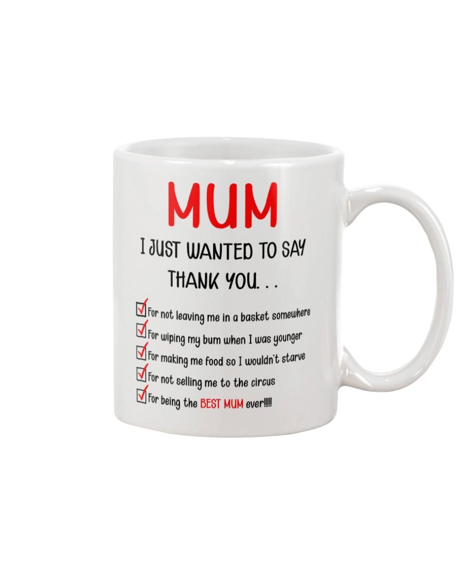 Thanks Mum List  Mug