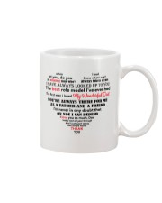 Dad Heart Shaped  Mug thumbnail