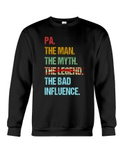 Pa Bad Influencer Crewneck Sweatshirt thumbnail