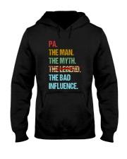 Pa Bad Influencer Hooded Sweatshirt thumbnail