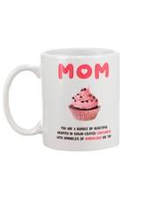 Sugar Coated Mom Mug back