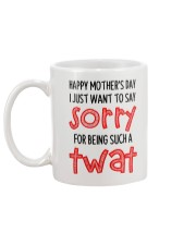 Sorry For Being Such A Twat Mug back