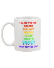 Inspiring Strong Talented Mom Mug back
