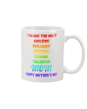 Inspiring Strong Talented Mom Mug front