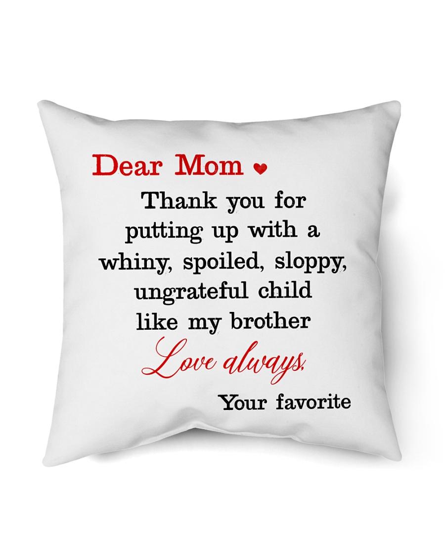 "Brother Ungrateful Child Indoor Pillow - 16"" x 16"""