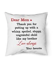 "Brother Ungrateful Child Indoor Pillow - 16"" x 16"" front"