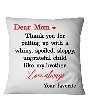 Brother Ungrateful Child Square Pillowcase thumbnail