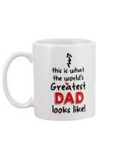 World's Greatest Dad  Mug back