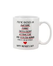 An Awesome Stylish Human Mug front