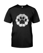 Dog Paw Clover Premium Fit Mens Tee thumbnail