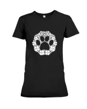 Dog Paw Clover Premium Fit Ladies Tee thumbnail