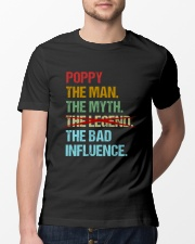 Poppy Legend Bad Influence Classic T-Shirt lifestyle-mens-crewneck-front-13