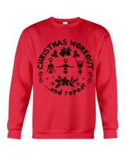 Christmas Workout Crewneck Sweatshirt front