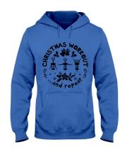 Christmas Workout Hooded Sweatshirt thumbnail