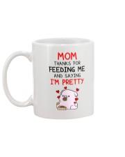 Saying I'm Pretty Mug back