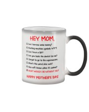 What Do Without Mom Color Changing Mug tile