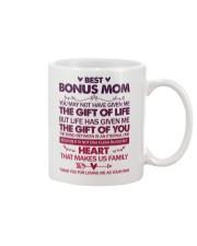 Bonus Mum Gift Of Life Mug front