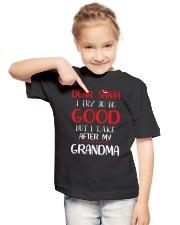 Dear Santa  Youth T-Shirt lifestyle-youth-tshirt-front-2