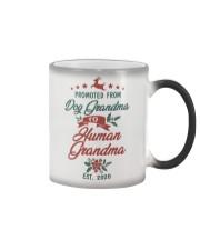 Dog grandma to human grandma Color Changing Mug thumbnail