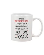 Not On Crack Mug front