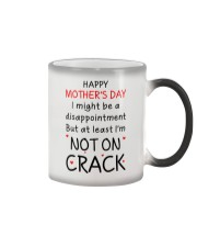 Not On Crack Color Changing Mug thumbnail