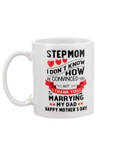 Thank You For Marrying Dad  Mug back