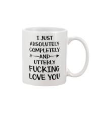 Utterly Love You  Mug front