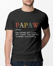 Papaw Retro Good Looking Classic T-Shirt lifestyle-mens-crewneck-front-13