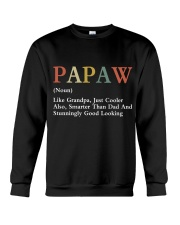 Papaw Retro Good Looking Crewneck Sweatshirt thumbnail