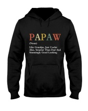 Papaw Retro Good Looking Hooded Sweatshirt thumbnail