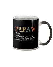 Papaw Retro Good Looking Color Changing Mug thumbnail
