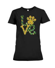 Dog Love St Patrick  Premium Fit Ladies Tee thumbnail