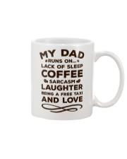 Dad Run On  Mug front