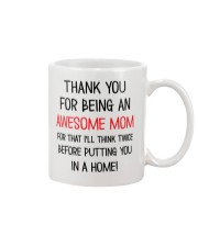 Being An Awesome Mom Mug front