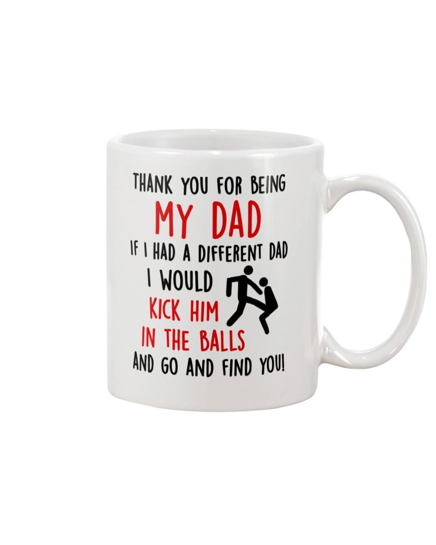 Kick Him In The Balls Mug
