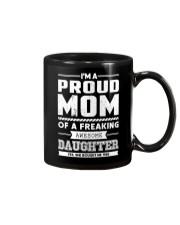 Proud Mom Of Freaking Awesome Daughter  Mug thumbnail