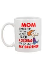 A Dikhead Of A Son Mug back