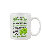 punch you in the face Mug front