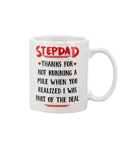 Stepdad Running A Mile